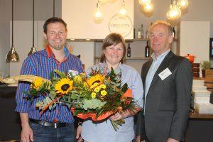 Dellenteam-Gründer Reinhart und Arthur Clark, Irina Podshibyakina