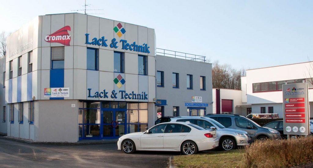 Zentrale von Lack & Technik im Linz – modernes Büro und Schulungszentrum